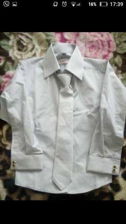 Дитяча сорочка з галстуком