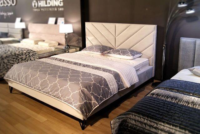 Łóżko tapicerowane Jodła /wzór jodełka/