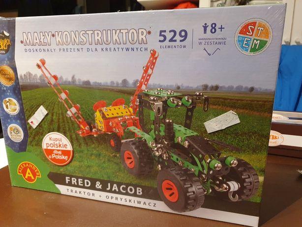Mały konstruktor Traktor i opryskiwacz