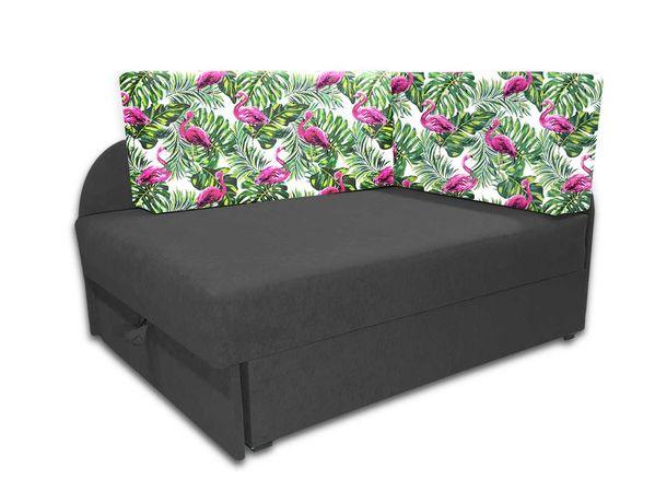 Narożnik dziecięcy KUBUŚ, łóżko dla dziecka, rozkładana sofa