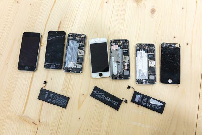 LOTE - 4x Iphones 5S - Para Peças/Reparação