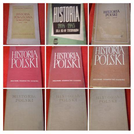 Książki do historii z drugiej połowie XX wieku