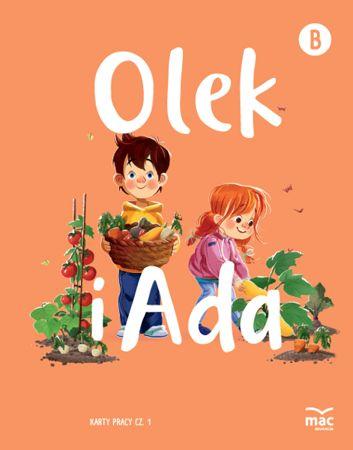 Olek i Ada. Pięciolatek. Poziom B. Karty pracy cz. 1 i 2