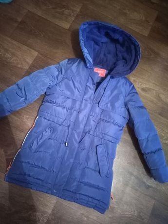 Очень тёплая и красивая курточка