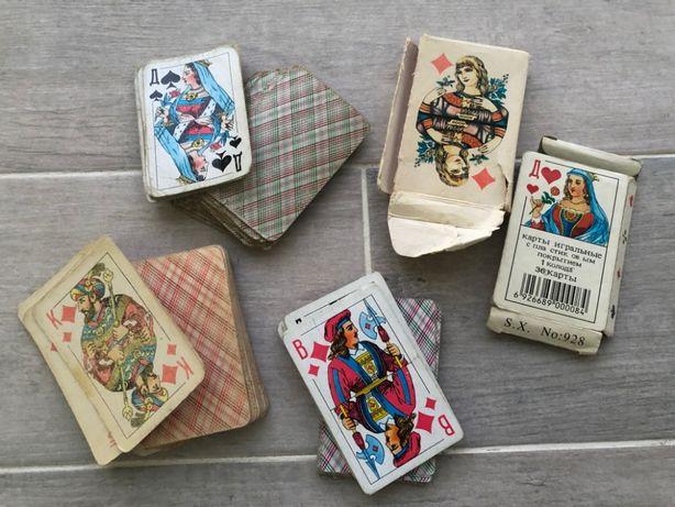 игральные карты СССР цена за все