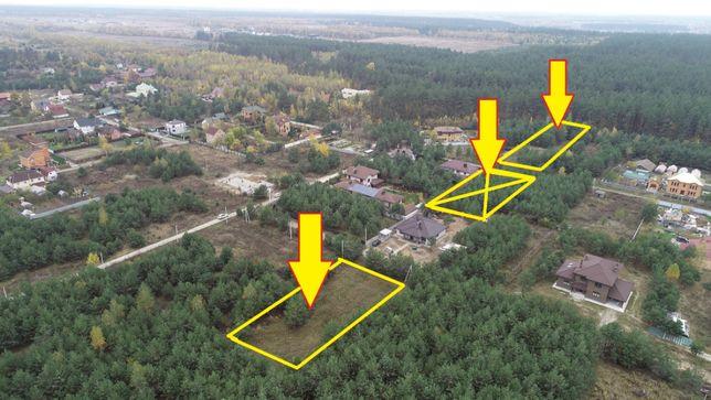 Продажа участка в окружение леса