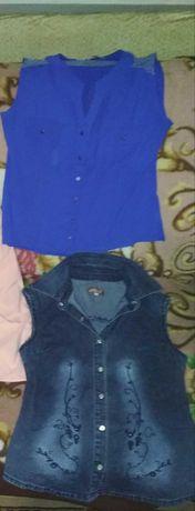 Кофта-блуза, желетка