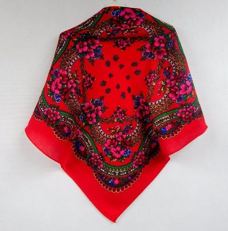 CHUSTA apaszka GÓRALSKA folk chustka ludowa boho