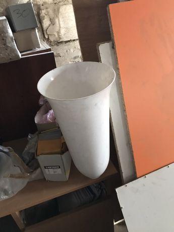 Пластиковый цветочный горшок ваза