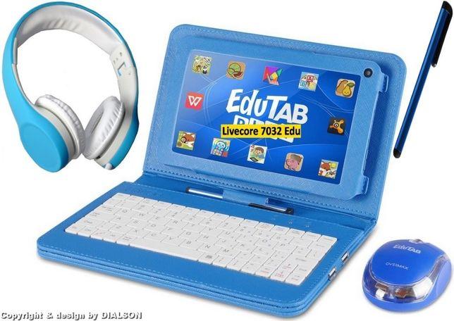 Tablet Edukacyjny Dzieci OVERMAX EDUTAB Multiset Prezent dla Dziecka