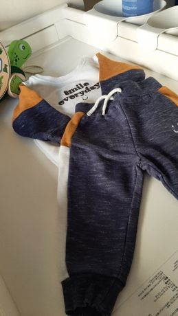 Lote roupa bebé menino
