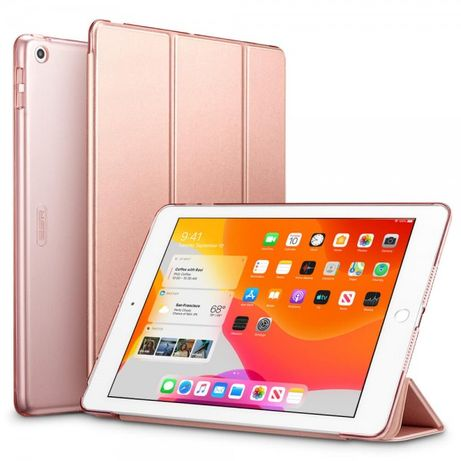 Магнитный чехол ESR Yippee Trifold Smart Case Rose Gold для iPad 1\2\3