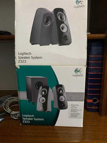 logitech speaker system z323 with subwoofer manual
