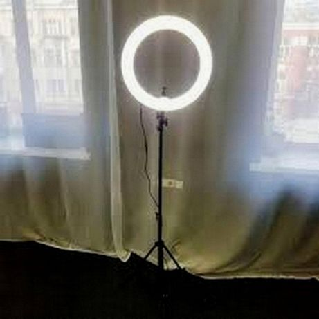 ПОДАРУНОК !!! Кільцева лампа Ring Fill Light 26см + стійка 2м гарантія