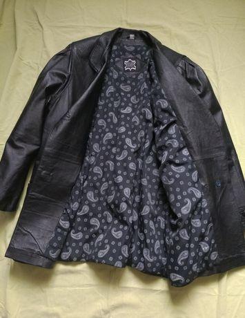 Натуральная  кожанная куртка (р.46-48