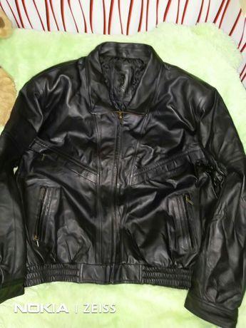 Продам новую кожаную куртку 56 раз.800грив.xxxl