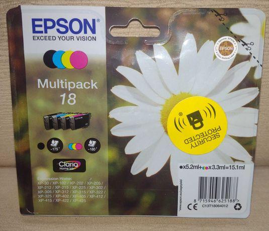Tusze Epson 18 Multipack XL 15,1 ml /355 odbitek 2021 r.