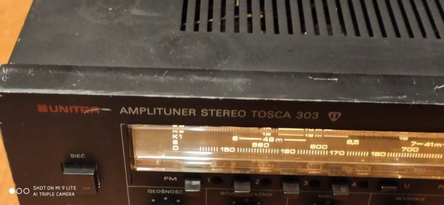 amplituner tosca 303 plus kolumny