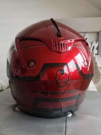 Kask motocyklowy HJC IS-17  Marvel Stark roz S. Limitowana edycja