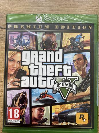 GTA V Premium Edition Xbox One folia