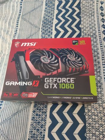 MSI Nvidea GTX 1060 3G Gaming X