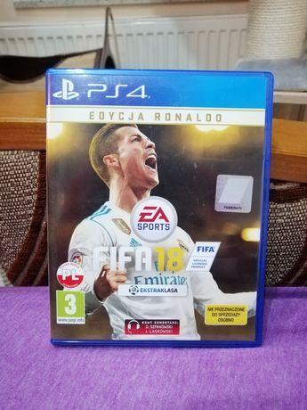 Gra FIFA 18,edycja Ronaldo, Polska wersja
