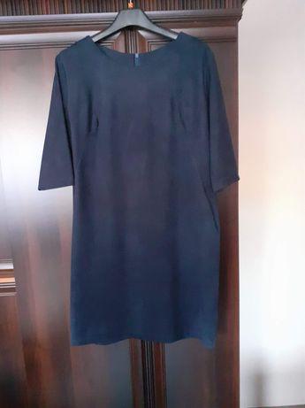 Sukienka zamszowa