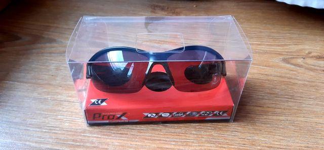 Okulary Prox Ray Bike 22 z wymiennymi soczewkami czarny mat