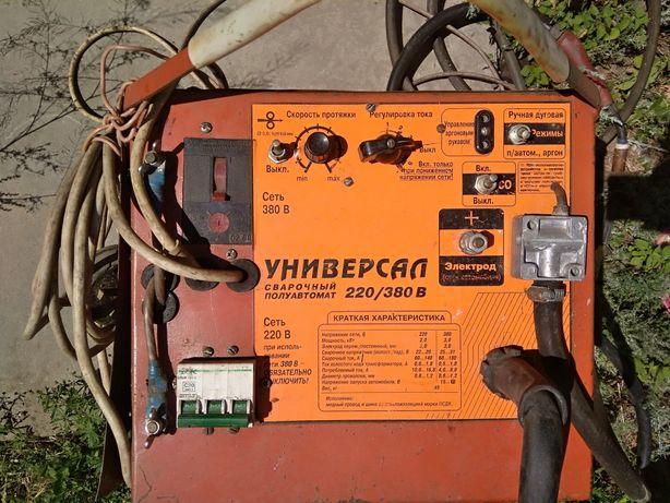 Сварочный полуавтомат,аргон 220/380 В