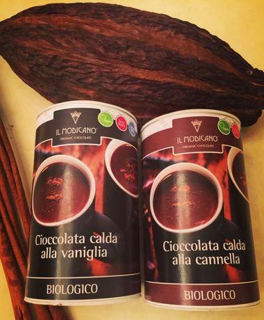 Горячий шоколад растворимый ОРГАНИК ВЕГАН 48% какао ИТАЛИЯ