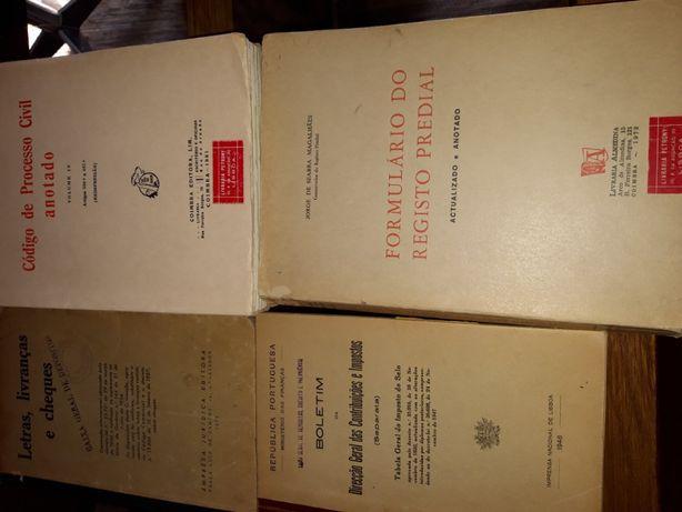 Códigos Juridicos - Direito Vintage- Anos 40 a 70