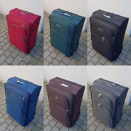 100% polyester FLY 8049 на 2-х.кол. валізи чемоданы сумки на колесах