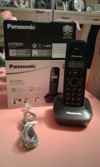 Sprzedam telefon Panasonic KX-TG1611 Dziwiszów - image 1