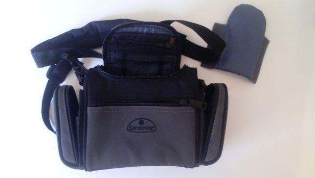Bolsa de ombro, para assessórios ou câmeras digitais etc...