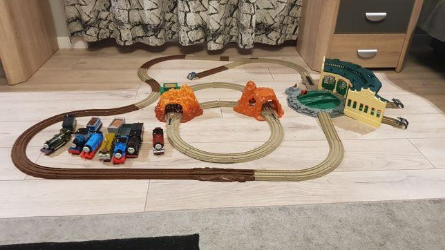Tomek i Przyjaciele Trackmaster duży zestaw