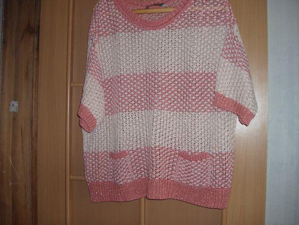 Красивый свитерок на шикарные формы. Смотрите замеры