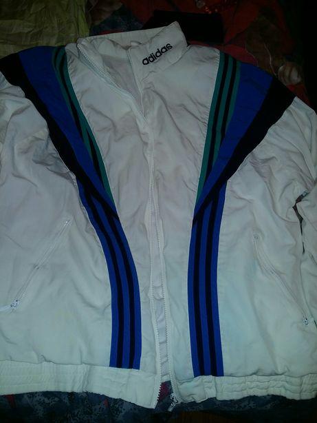 Олимпийка adidas vintage винтаж белая