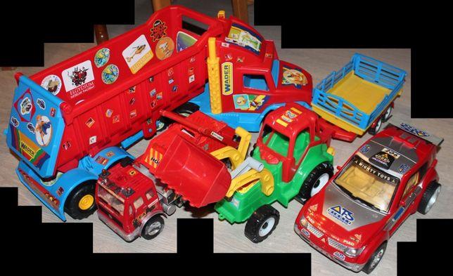 Auta duże i średnie , zabawkowe