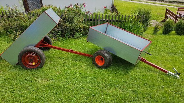 Przyczepka do quada traktorka kosiarki lekka 700kg ocynk ATV quad