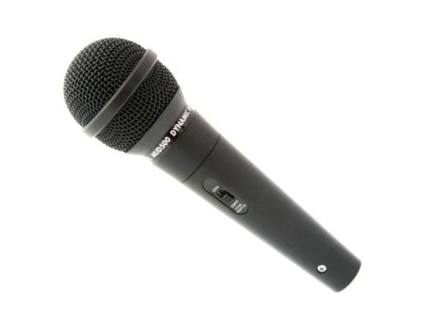 Profesjonalny dynamiczny mikrofon kierunkowy + kabel XLR + futerał