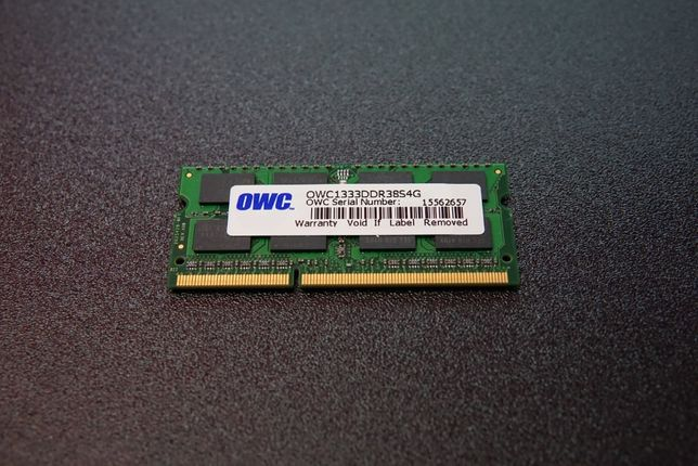 Pamięć RAM DDR3 OWC do Apple MacBook PRO, Mac mini.