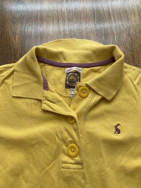 Żółta koszulka polo, rozmiar XS