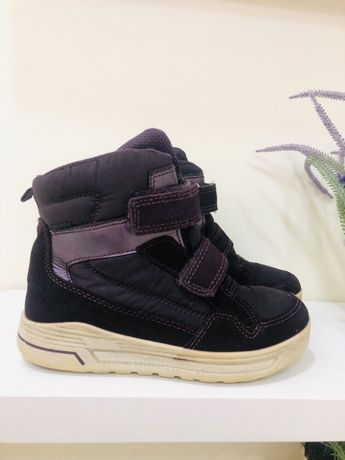 Сапожки Ecco, ботинки кожаные