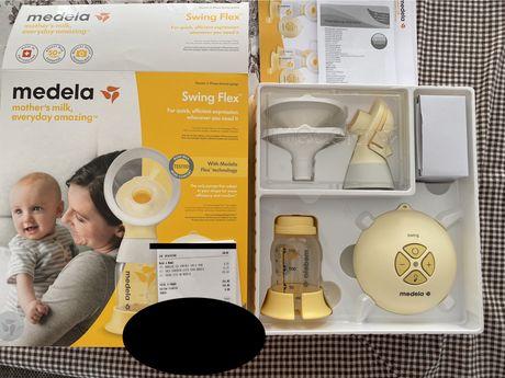 Extrator leite Medela Swing Flex com garantia