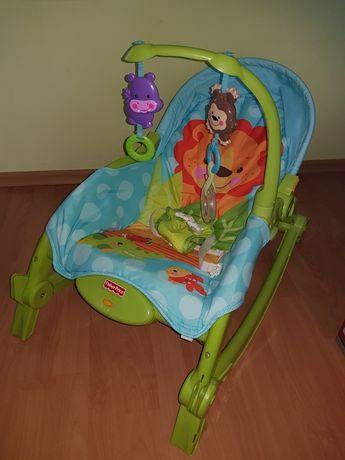 Leżaczek krzesełko Fisher Price