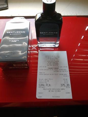 Givenchy Gentleman EDT Intense 100 ml - jak nowy - Sephora, paragon