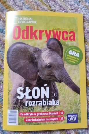 Odkrywca National Geographic 11/19 słoń