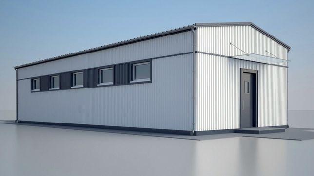 Ангар склад 10х48х5 каркас, фермы, цех, навес, быстровозводимые здания