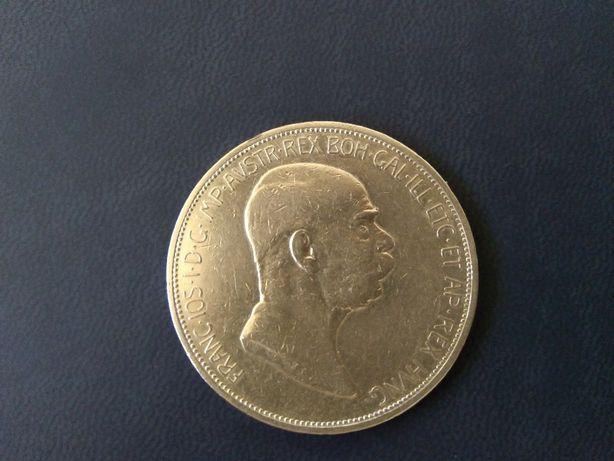 Austria 5 Koron 1909 Franciszek Józef I srebro-opcja wysyłki