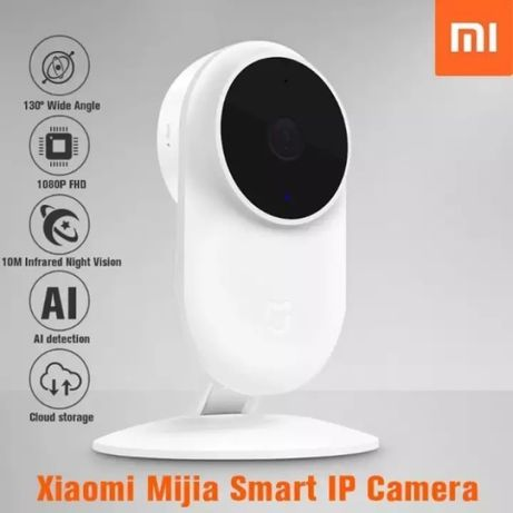 IP камера Mi Home (Mijia) 1080P.Видеоняня.Угол обзора 130°.2140 руб